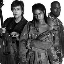 Rihanna, Kanye West and Paul McCartney – FourFiveSeconds
